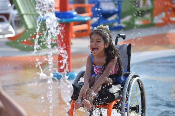 Pque Aquatico 2 - Primeiro parque aquático do Mundo para pessoas com deficiência abre finalmente