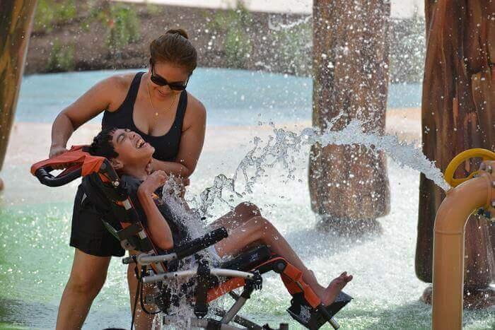 Pque Aquatico 4 - Primeiro parque aquático do Mundo para pessoas com deficiência abre finalmente