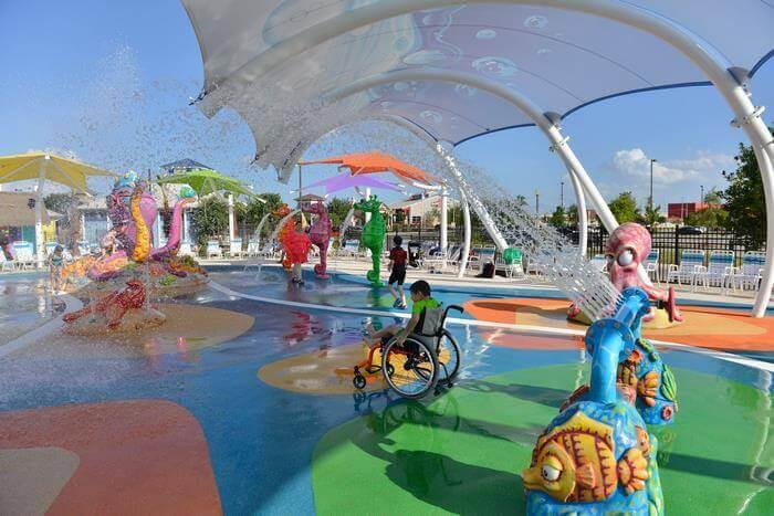 Pque Aquatico 5 - Primeiro parque aquático do Mundo para pessoas com deficiência abre finalmente
