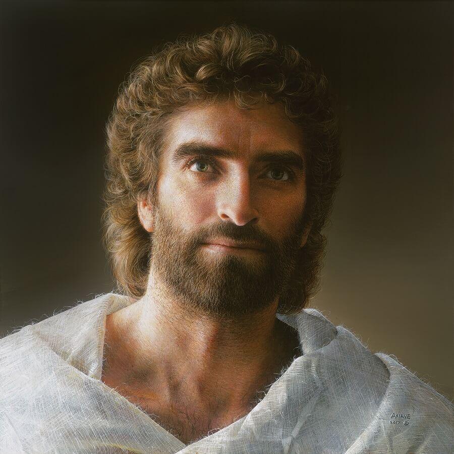 2 1 - Menina viu rosto de Jesus e pintou em um quadro -  Akiane Kramarik