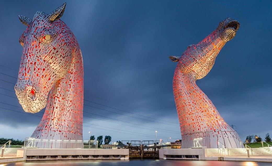 esc2 - Belíssima escultura The Kelpies com 30 metros de altura impressiona!