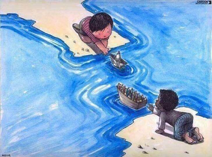 11 - 12 desenhos que representam a infeliz realidade que vivemos.
