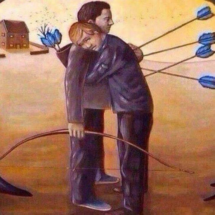 12 - 12 desenhos que representam a infeliz realidade que vivemos.