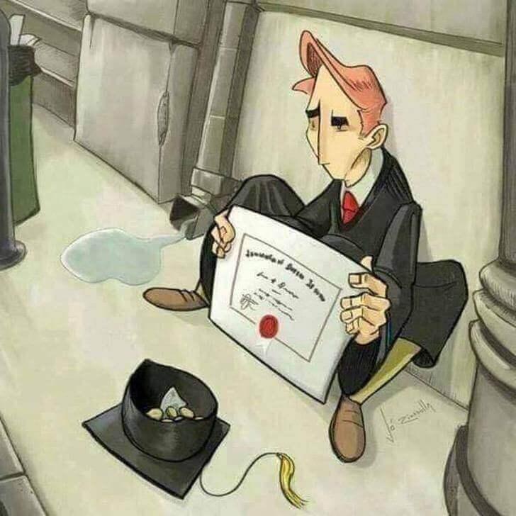 8 - 12 desenhos que representam a infeliz realidade que vivemos.