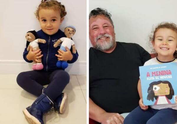 bonecas vovo5 - Vovô com vitiligo faz bonecas de crochê para que crianças se sintam bem com a aparência