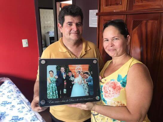 Dna Elza 3 - Advogado arrecadou R$ 117 mil e construiu um bela casa para doadora de RO que salvou sua vida