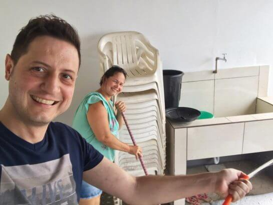 Dna Elza 5 - Advogado arrecadou R$ 117 mil e construiu um bela casa para doadora de RO que salvou sua vida