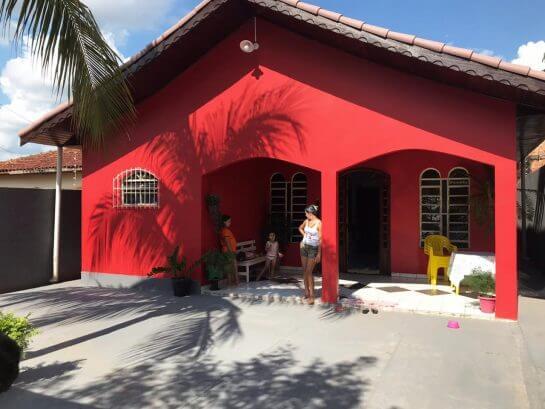 Dna Elza 6 - Advogado arrecadou R$ 117 mil e construiu um bela casa para doadora de RO que salvou sua vida
