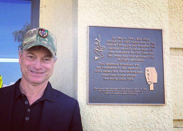 Fundação Gary Sinise1 - Ator Gary Sinise levou totalmente de graça mais de 1000 crianças filhos de veteranos de guerra para a Disney