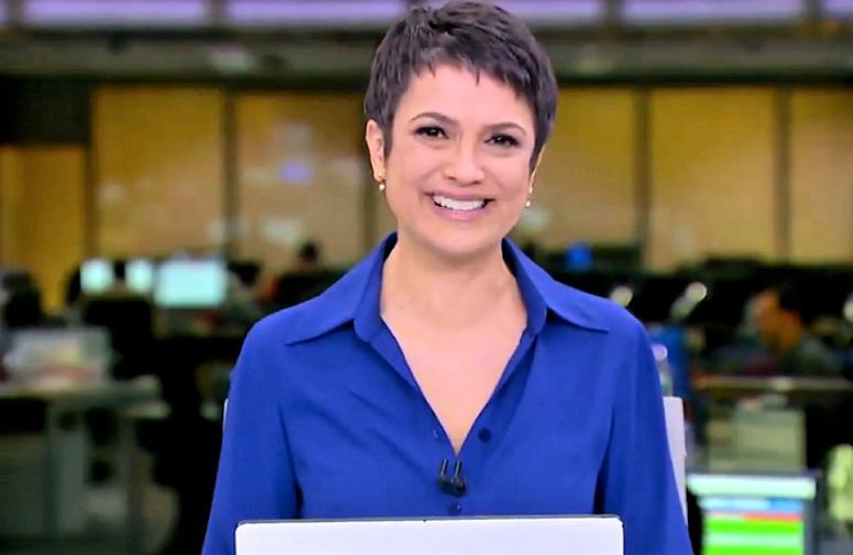 Jornalista Sandra Annemberg - Sandra Annenberg pagou voluntariamente cursinho vestibular para o filho de sua empregada doméstica