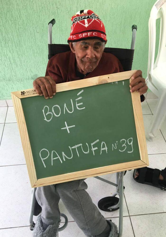 asilo 2 - Idosos de um asilo no Paraná comovem a internet com pedidos simples e motivam muitas pessoas