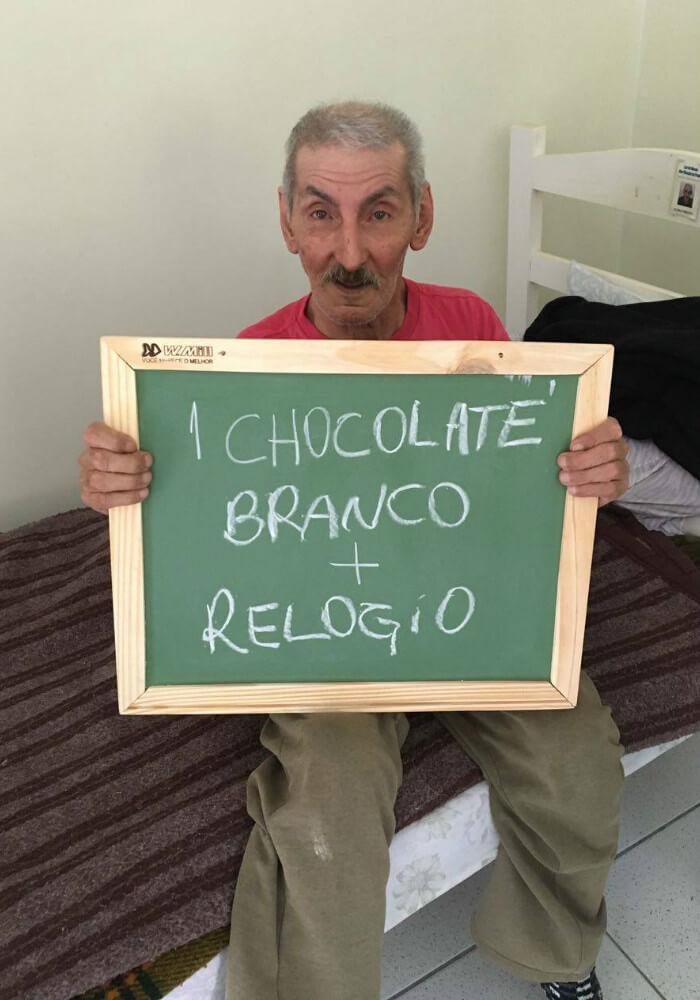 asilo12 - Idosos de um asilo no Paraná comovem a internet com pedidos simples e motivam muitas pessoas