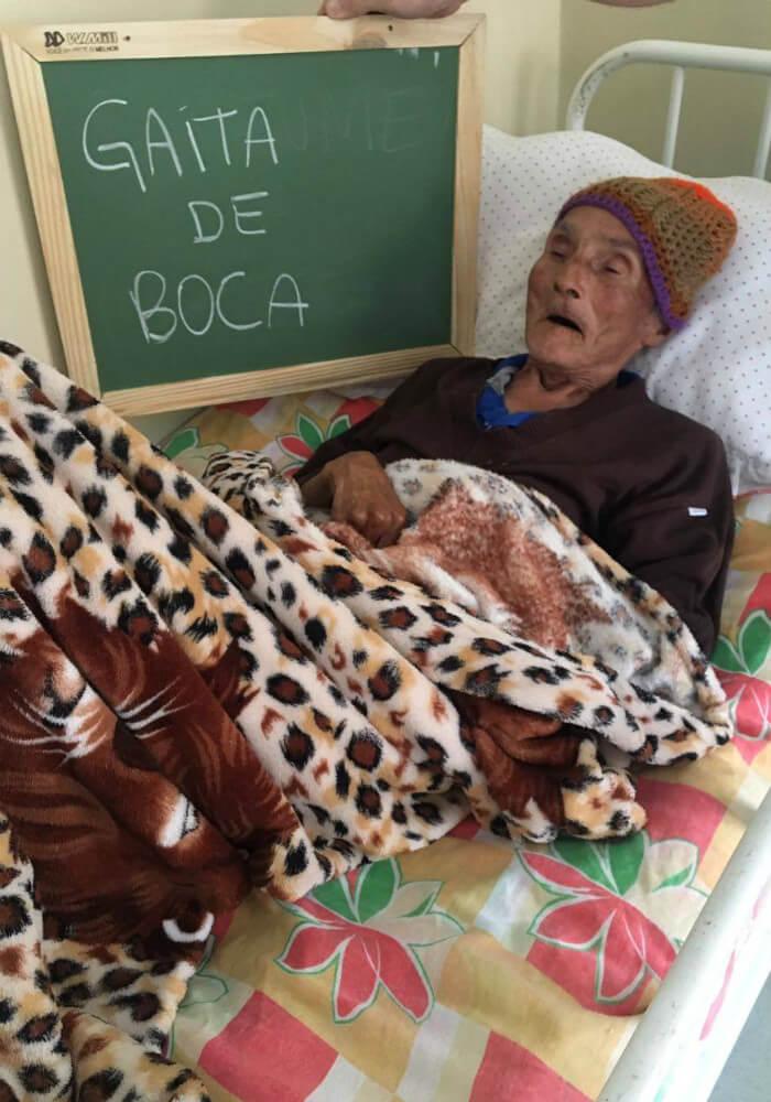 asilo3 - Idosos de um asilo no Paraná comovem a internet com pedidos simples e motivam muitas pessoas