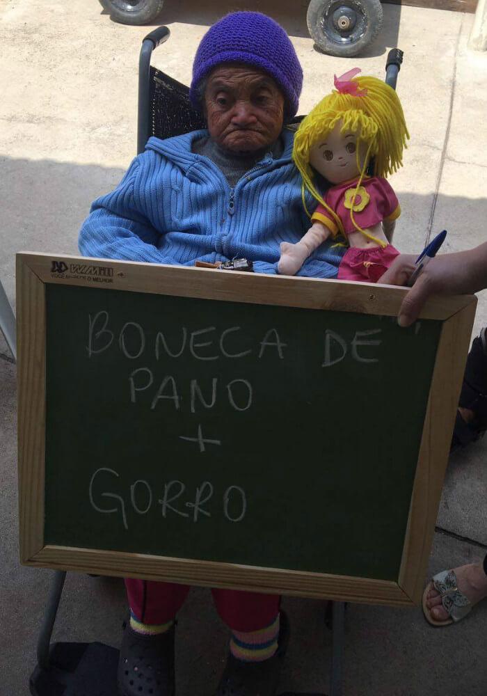 asilo4 - Idosos de um asilo no Paraná comovem a internet com pedidos simples e motivam muitas pessoas