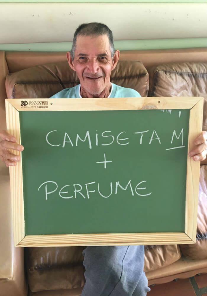 asilo5 - Idosos de um asilo no Paraná comovem a internet com pedidos simples e motivam muitas pessoas