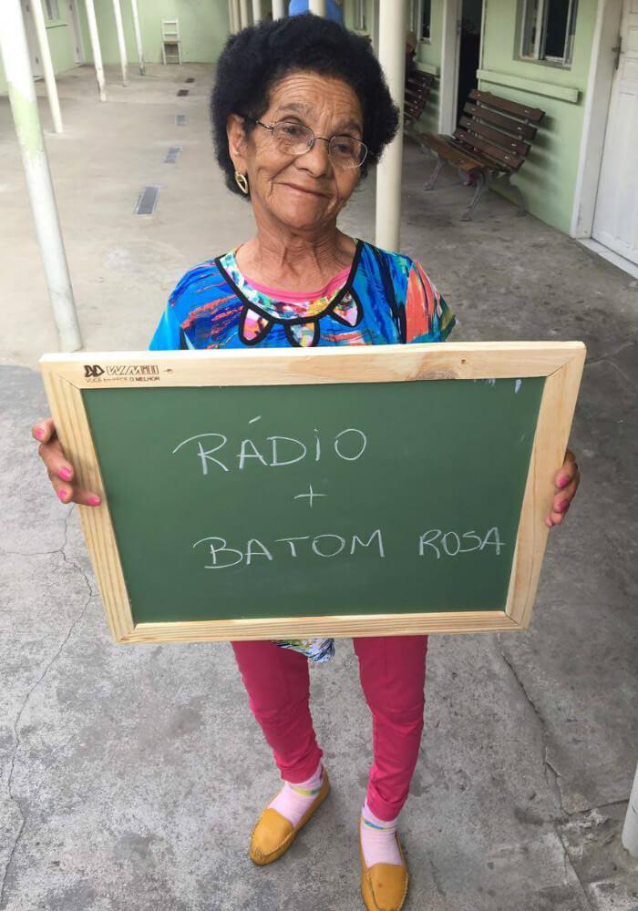 asilo7 - Idosos de um asilo no Paraná comovem a internet com pedidos simples e motivam muitas pessoas