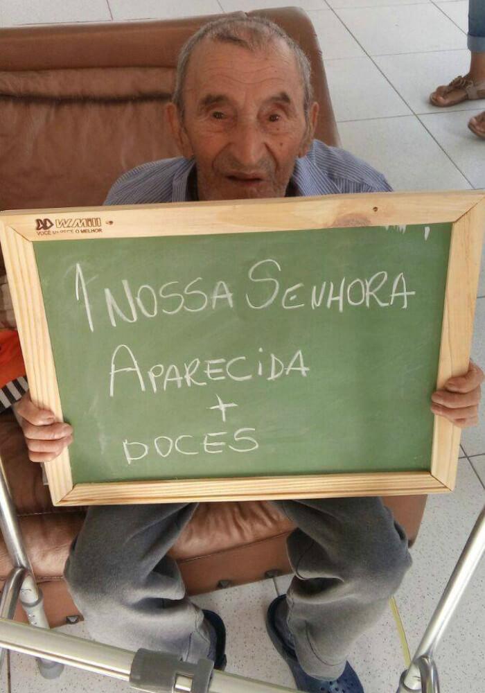 asilo8 - Idosos de um asilo no Paraná comovem a internet com pedidos simples e motivam muitas pessoas