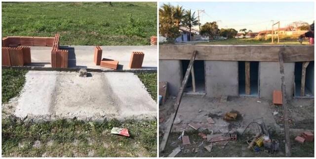 """cãodominio 3 - Vizinhança se junta e criam """"cãodomínio"""" um abrigo que recebe animais de rua no RJ"""