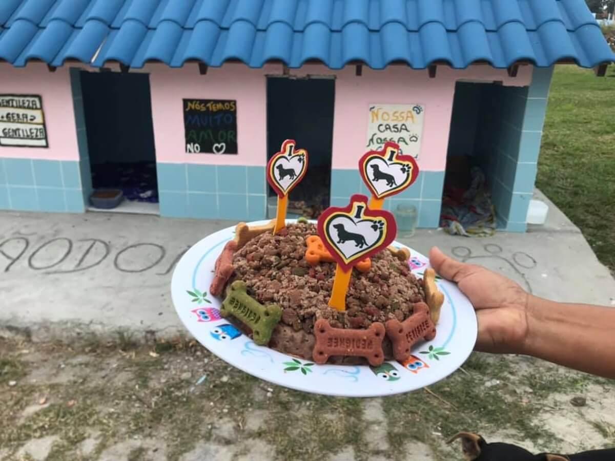 """cãodominio 4 - Vizinhança se junta e criam """"cãodomínio"""" um abrigo que recebe animais de rua no RJ"""