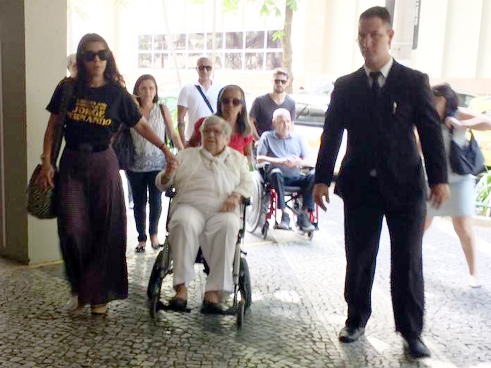 29jorge2 - Morreu a atriz Hilda Rebello, mãe do conhecido ator e diretor Jorge Fernando