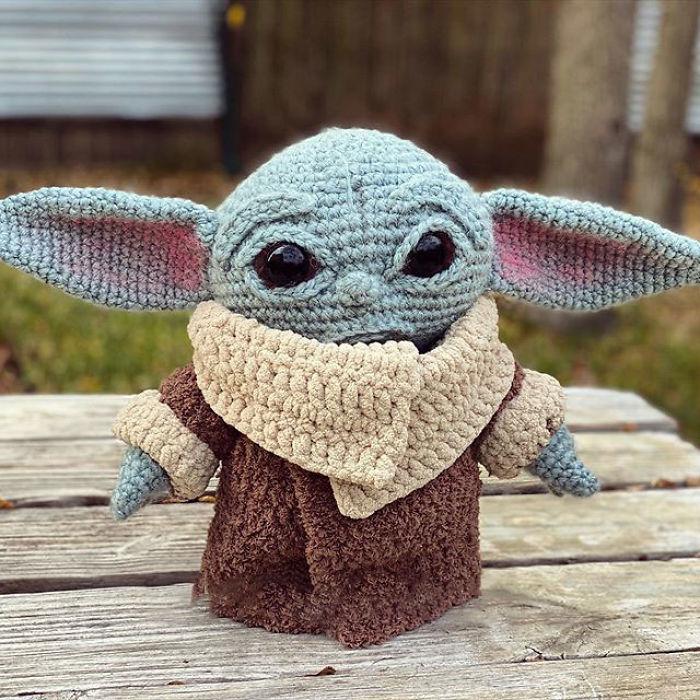 """3 - Veja esta arte em crochê """"bebê Amigurumi"""" que você mesmo pode fazer"""