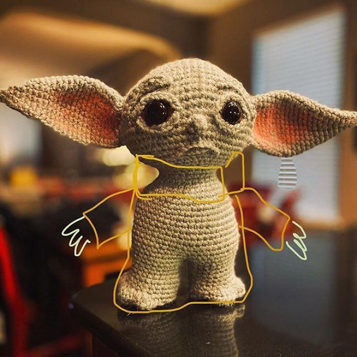 """4 - Veja esta arte em crochê """"bebê Amigurumi"""" que você mesmo pode fazer"""