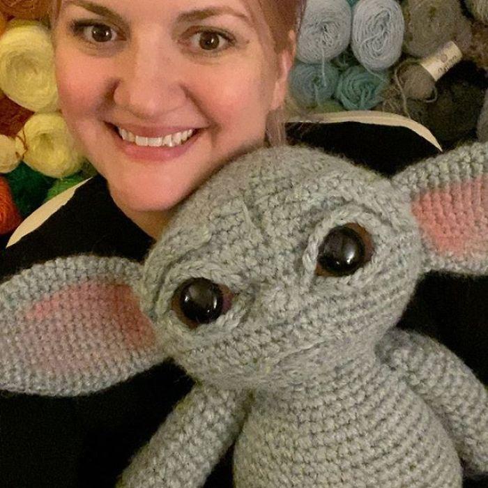 """6 - Veja esta arte em crochê """"bebê Amigurumi"""" que você mesmo pode fazer"""