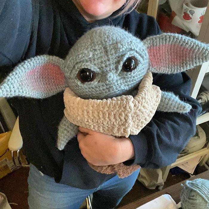 """7 - Veja esta arte em crochê """"bebê Amigurumi"""" que você mesmo pode fazer"""