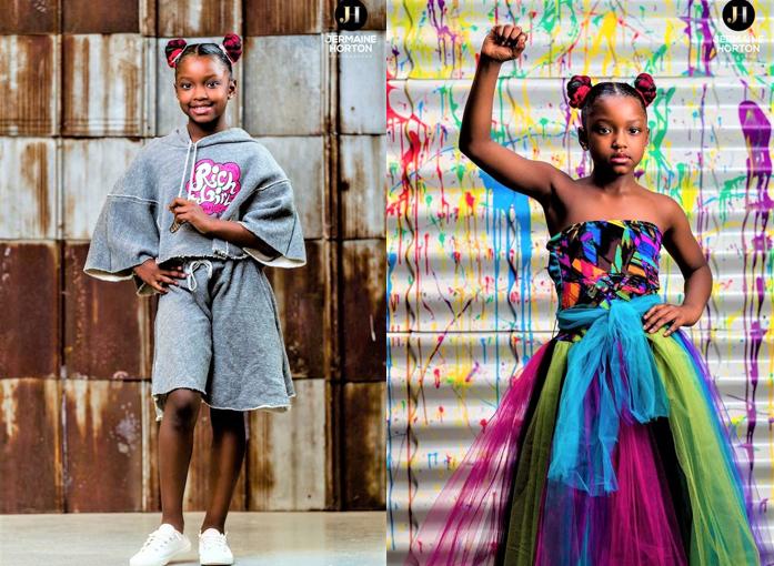 Jermaine Horton 2 - Menina de 8 anos é proibida de participar das fotos da escola e um fotógrafo lhe dá de presente um ensaio exclusivo