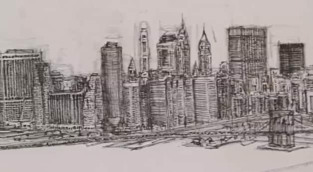 man camera6 - Após sobrevoar a cidade por 20 minutos o rapaz autista memorizou e desenhou NY
