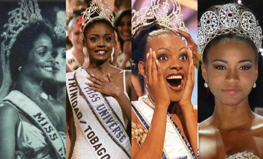 miss universo 1 - Somente 5 mulheres negras foram premiadas no concurso miss universo