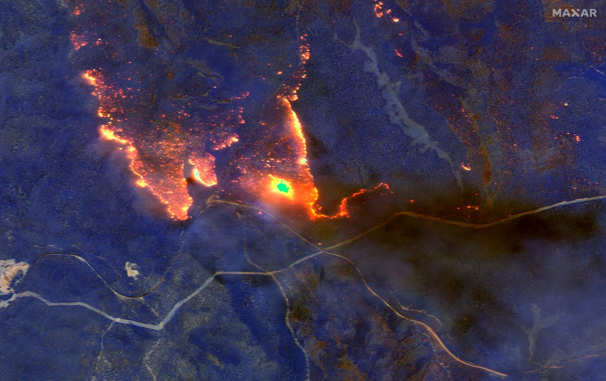 2020 01 04t185023z 208386918 rc269e93uob3 rtrmadp 3 australia bushfires maxar technologies via reuters - Chris Hemsworth doou US$ 1 milhão para ajudar a combater incêndios na Austrália