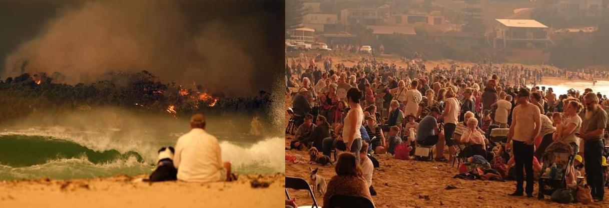Incêndios Australia 3 - Subiu para 23 o número de mortos devido aos incêndios florestais na Austrália