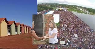 Prefeitura de Granja - Prefeita de Granja(CE), cancelou festa de carnaval para construir 52 casas populares e doar às famílias carentes