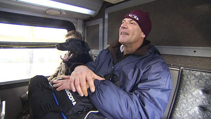dog rides bus seattle eclipse 5948d5767ea95  700 - Cachorra pega ônibus sozinha todos os dias para ir ao parque!