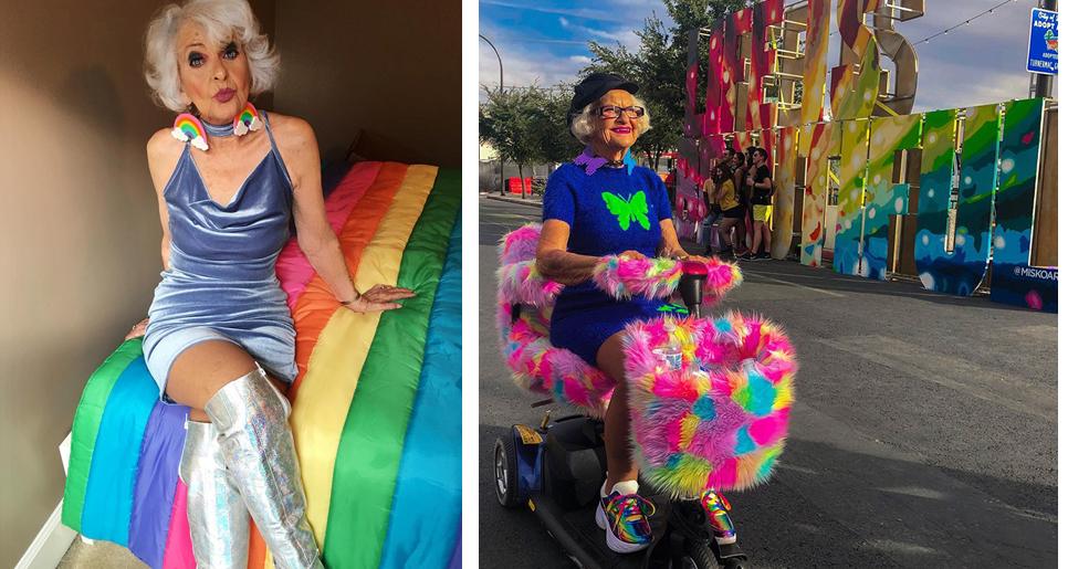 1 - Conheça a vovó de 92 anos que prova a todos que nunca é tarde para ter estilo