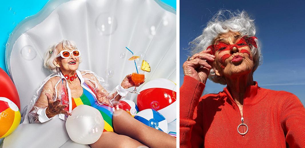 10 - Conheça a vovó de 92 anos que prova a todos que nunca é tarde para ter estilo
