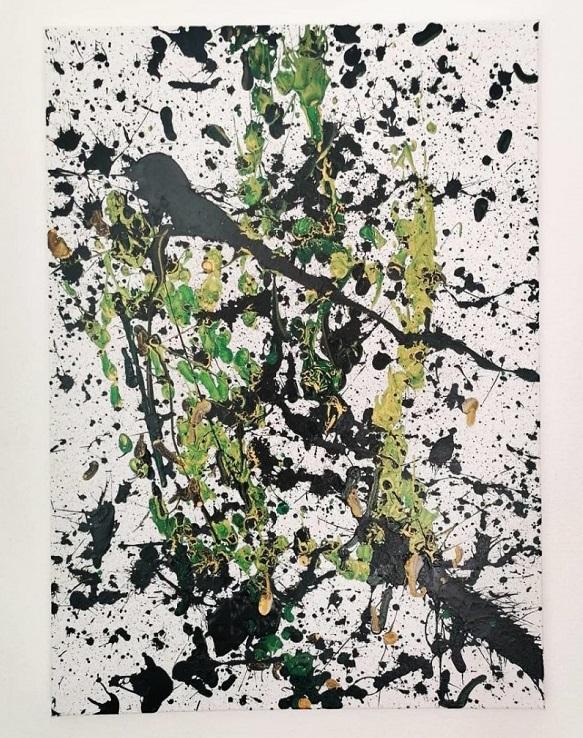 """12 2 - Pai postou com orgulho: """"Meu filho tem Autismo e se expressa através da pintura, e eis aqui algumas obras de arte dele""""."""