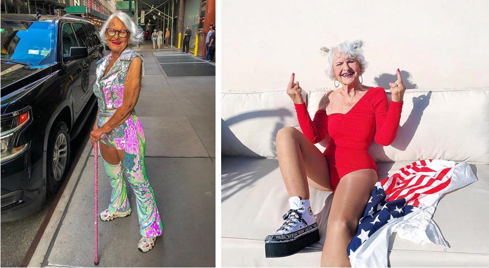 2 - Conheça a vovó de 92 anos que prova a todos que nunca é tarde para ter estilo