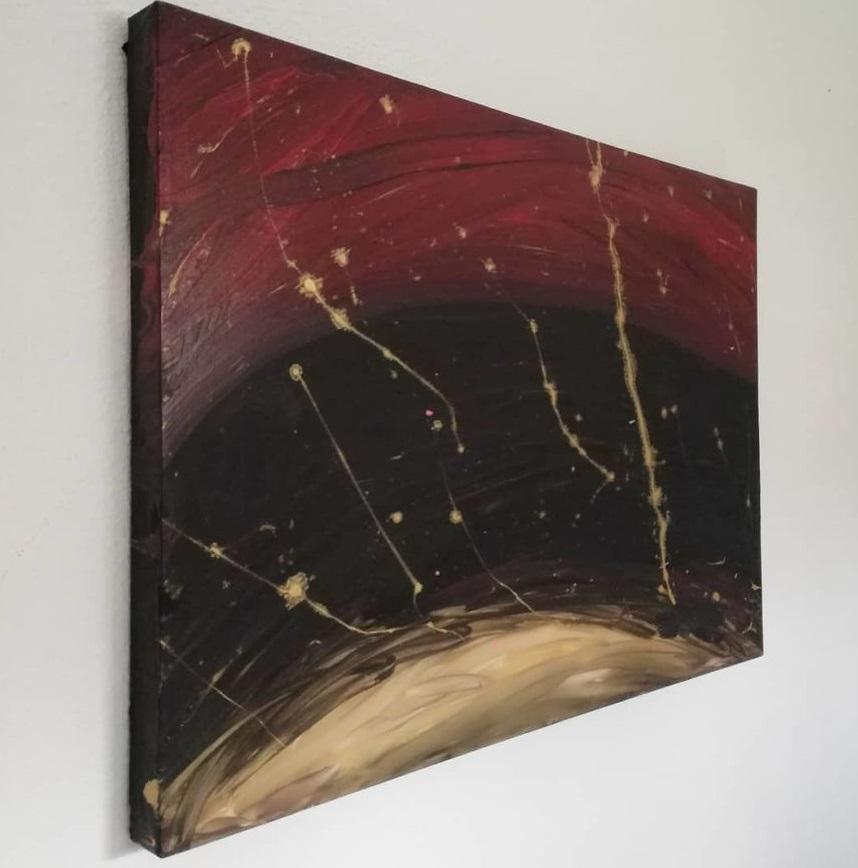 """20 - Pai postou com orgulho: """"Meu filho tem Autismo e se expressa através da pintura, e eis aqui algumas obras de arte dele""""."""