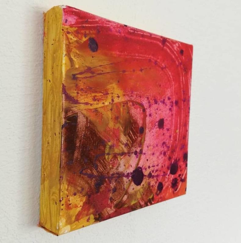 """25 - Pai postou com orgulho: """"Meu filho tem Autismo e se expressa através da pintura, e eis aqui algumas obras de arte dele""""."""