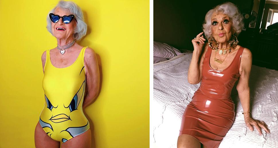5 - Conheça a vovó de 92 anos que prova a todos que nunca é tarde para ter estilo
