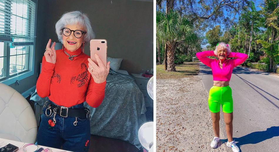 6 - Conheça a vovó de 92 anos que prova a todos que nunca é tarde para ter estilo