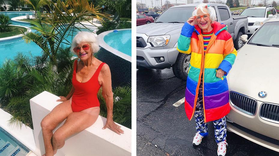 7 - Conheça a vovó de 92 anos que prova a todos que nunca é tarde para ter estilo