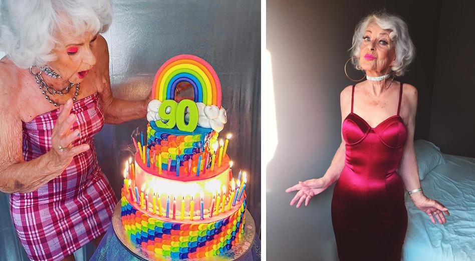 9 - Conheça a vovó de 92 anos que prova a todos que nunca é tarde para ter estilo