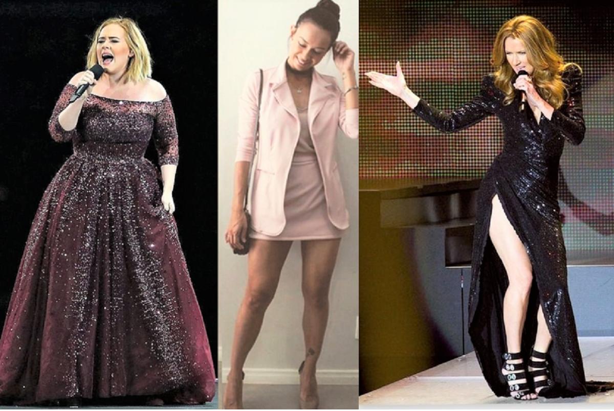 """Adele bruna e Celine Antes - Em """"nome da beleza"""" Marquezine, Adele e Dion """"secaram"""": e a magreza destas famosas preocupa os fãs"""
