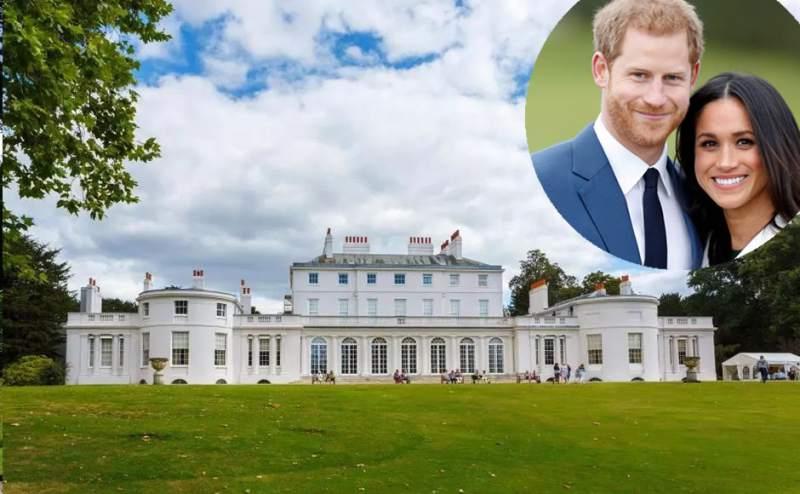 """Residência oficial do Principe Harry e Meghan - Rainha cobrou, e Harry e Meghan devolverão R$ 13 milhões e largarão """"bolsa-realeza"""" para se afastarem"""