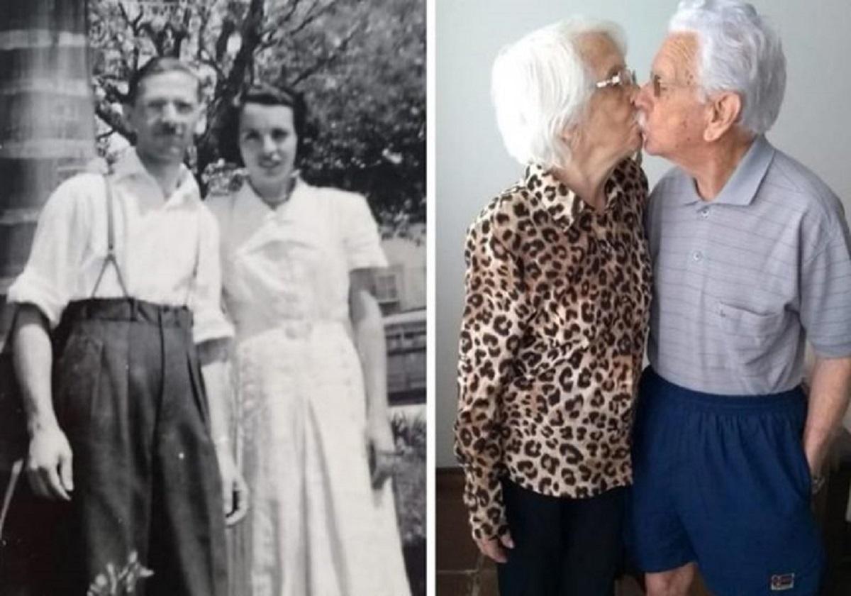 "casal bodas diamante close 768x538 1 - Casal comemora 75 anos de casamento e se acham ""jovens para o amor"""