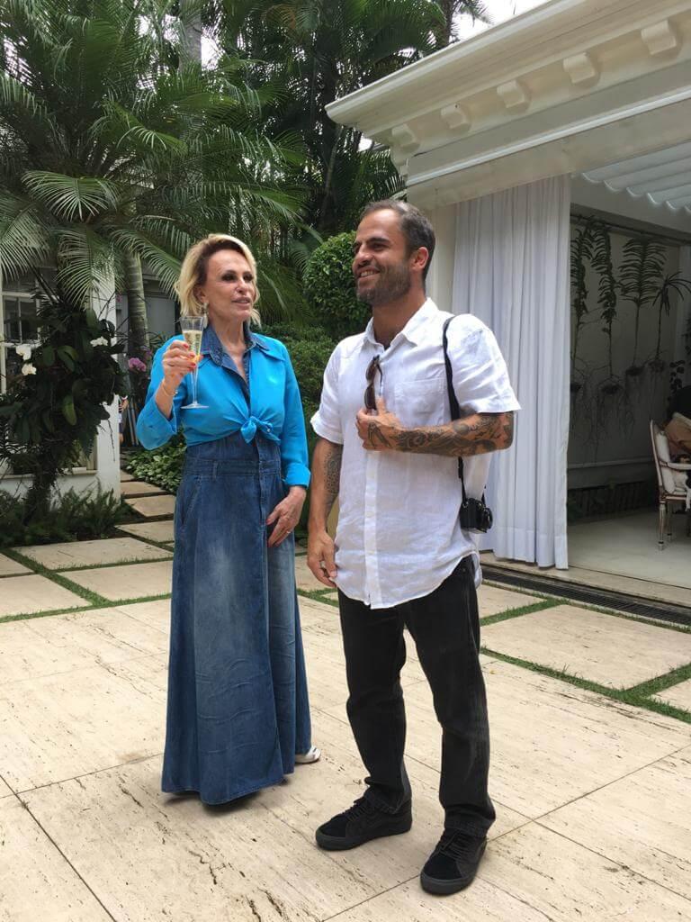 casamento ana maria braga filho 1 - Ana Maria Braga casa-se no civil: veja as fotos