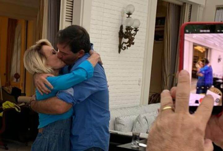 casamento ana maria braga johnny - Ana Maria Braga casa-se no civil: veja as fotos
